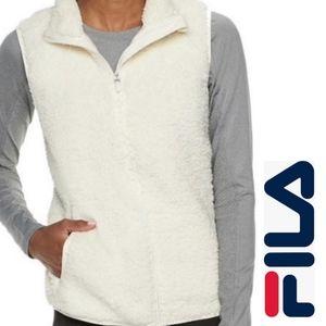Brand New Fila Sport Sherpa Vest